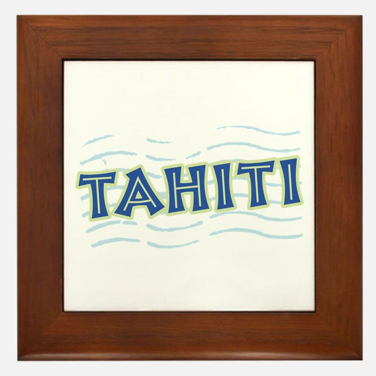Tahiti Framed Tile