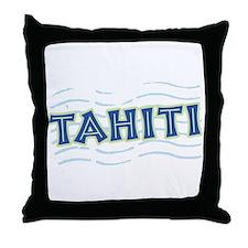 Tahiti Throw Pillow