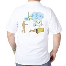 Body Says T-Shirt