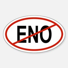 ENO Oval Decal