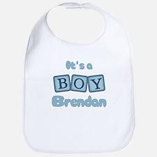 It's A Boy - Brendan Bib