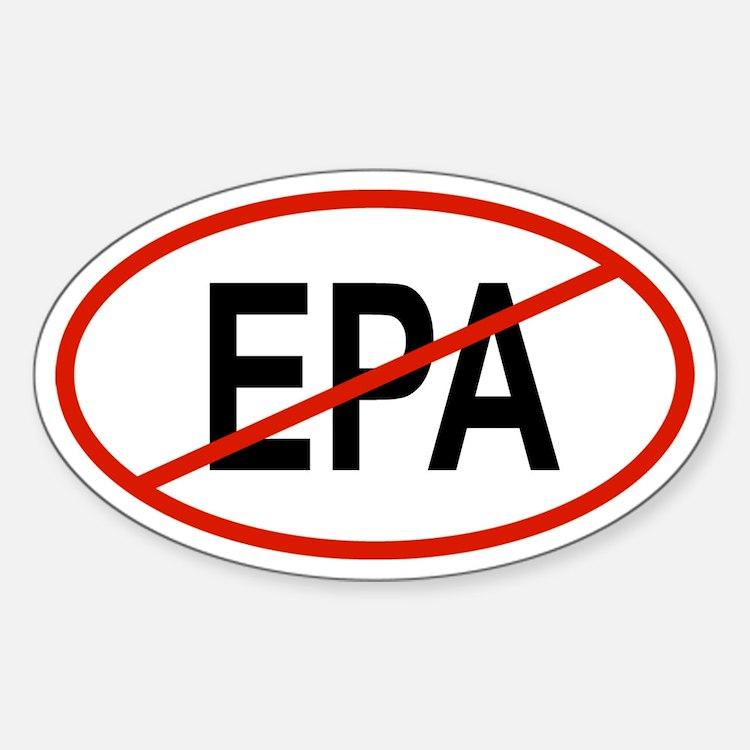 EPA Oval Decal