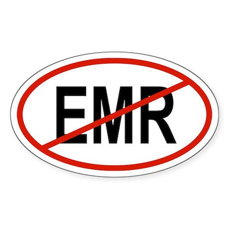 EMR Oval Sticker