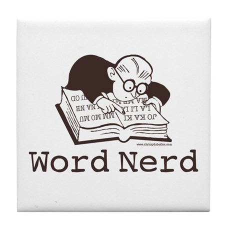 Word Nerd Scrabble Tile Coaster