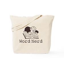 Word Nerd Scrabble Tote Bag