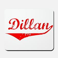 Dillan Vintage (Red) Mousepad