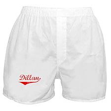 Dillan Vintage (Red) Boxer Shorts