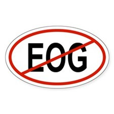 EOG Oval Decal