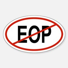 EOP Oval Decal