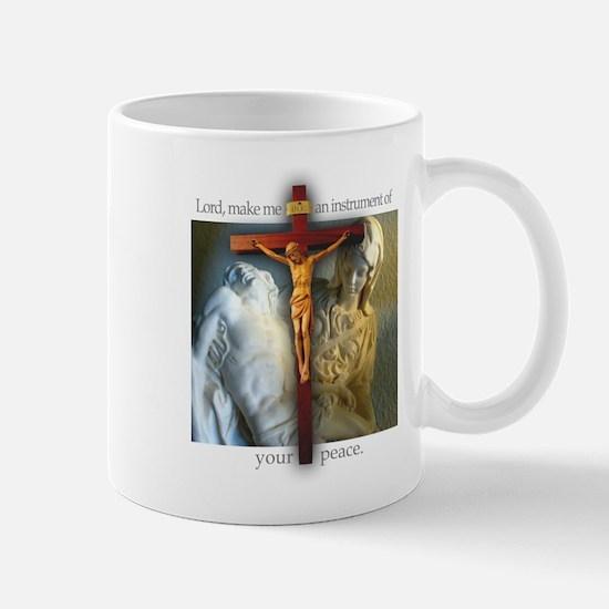 Crucifix/Pieta Mug