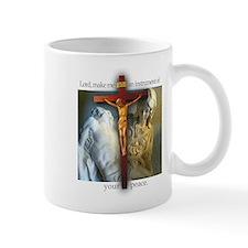 Crucifix/Pieta Small Mug