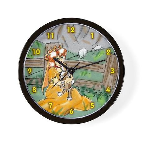 Princess Poppie Wall Clock