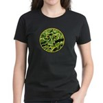Hosta Smiley Face Women's Dark T-Shirt
