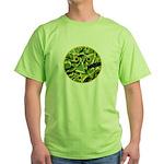 Hosta Smiley Face Green T-Shirt