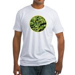 Hosta Smiley Face Fitted T-Shirt