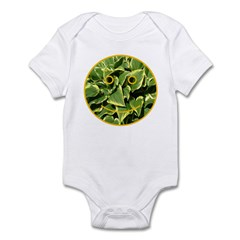 Hosta Smiley Face Infant Bodysuit