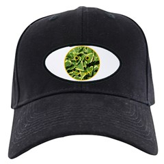 Hosta Smiley Face Baseball Hat