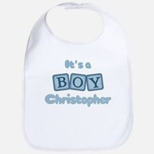 It's A Boy - Christopher Bib