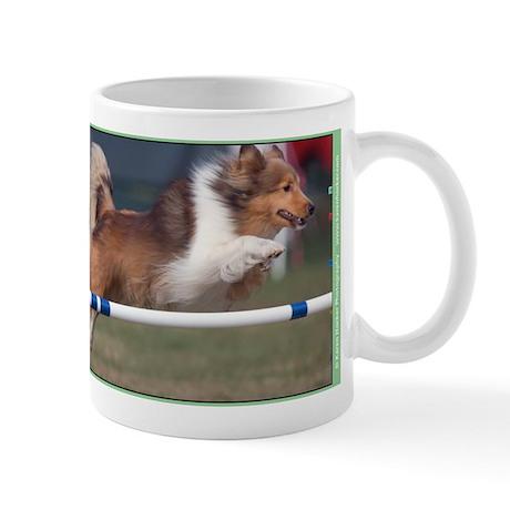 Sheltie Agility Fun Mug