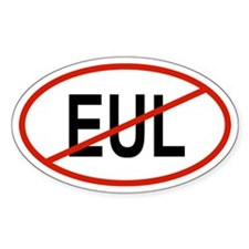 EUL Oval Decal