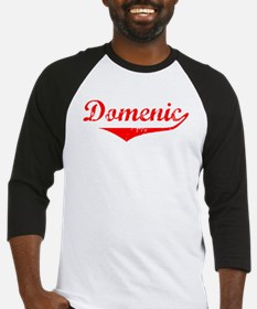 Domenic Vintage (Red) Baseball Jersey