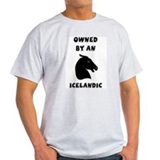 Owned by an Icelandic Ash Grey T-Shirt