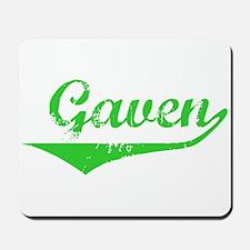 Gaven Vintage (Green) Mousepad
