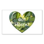 Got Hosta? Rectangle Sticker