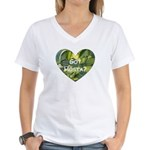 Got Hosta? Women's V-Neck T-Shirt