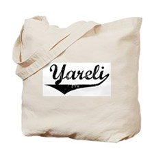 Yareli Vintage (Black) Tote Bag