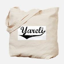 Yareli Vintage (Black) Tote Bag