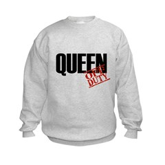 Off Duty Queen Sweatshirt