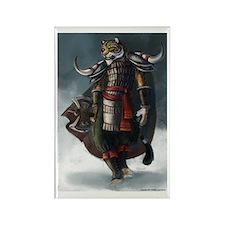 Tiger Warrior - Rectangle Magnet