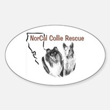 NCR logo 1 Oval Decal