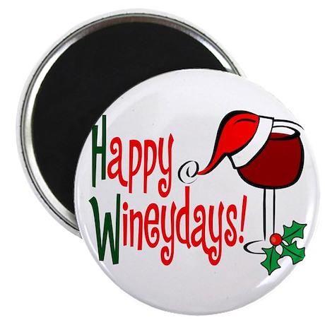 "Happy Wineydays 2.25"" Magnet (10 pack)"