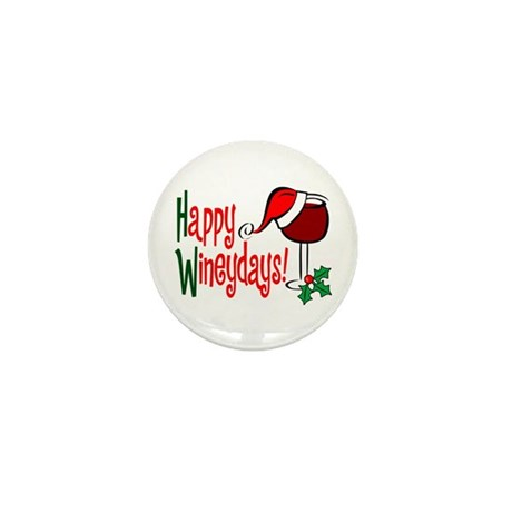 Happy Wineydays Mini Button (100 pack)