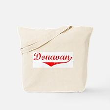 Donavan Vintage (Red) Tote Bag