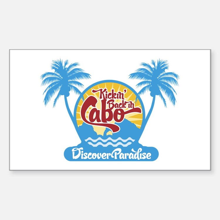 Cabo San Lucas Rectangle Decal