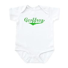 Geoffrey Vintage (Green) Infant Bodysuit