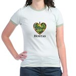 I Love Hostas Jr. Ringer T-Shirt