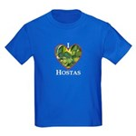 I Love Hostas Kids Dark T-Shirt
