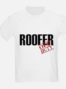 Off Duty Roofer T-Shirt