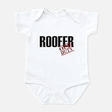 Off Duty Roofer Infant Bodysuit