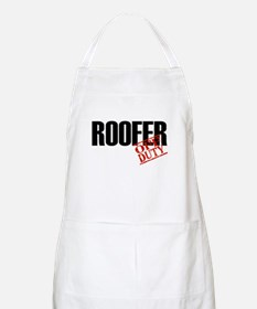 Off Duty Roofer BBQ Apron