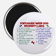Portuguese Water Dog Property Laws 2 Magnet