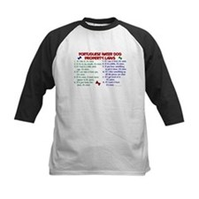 Portuguese Water Dog Property Laws 2 Tee