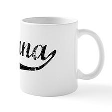 Yuliana Vintage (Black) Coffee Mug