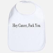 Hey Cancer Fuck You Bib