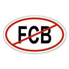 FCB Oval Decal