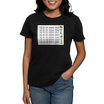 No more hostas Women's Dark T-Shirt